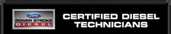 ford certified diesel tech banner