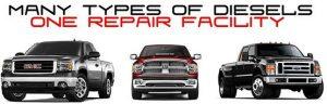 Diesel engine repair services